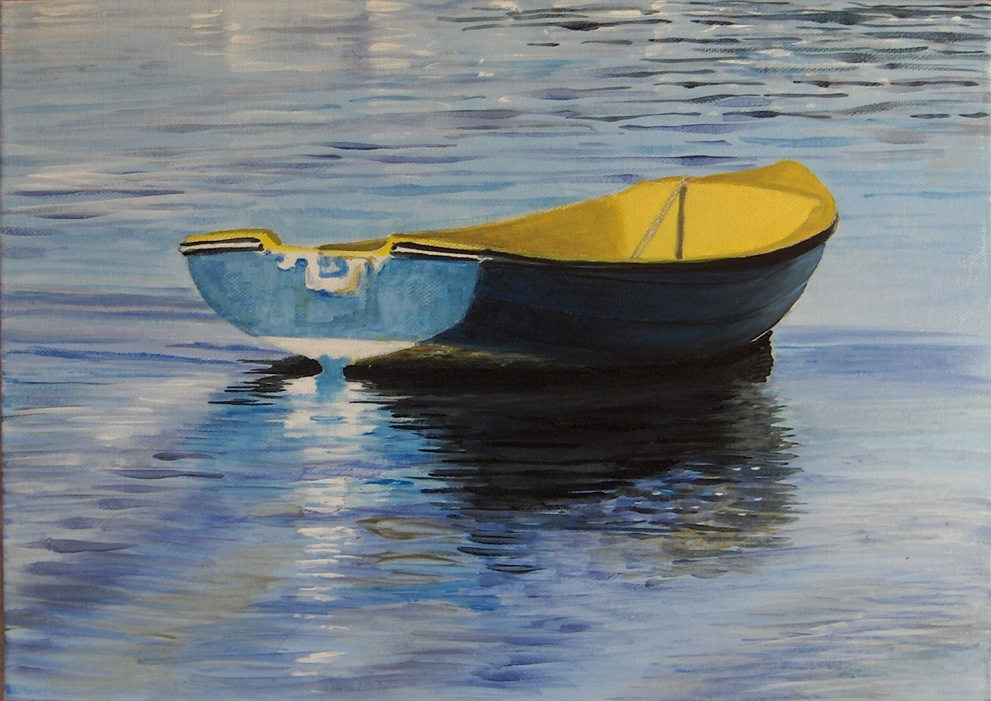 Blue Dinghy