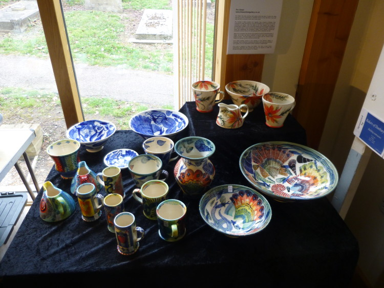 Pru Green's colourful ceramics