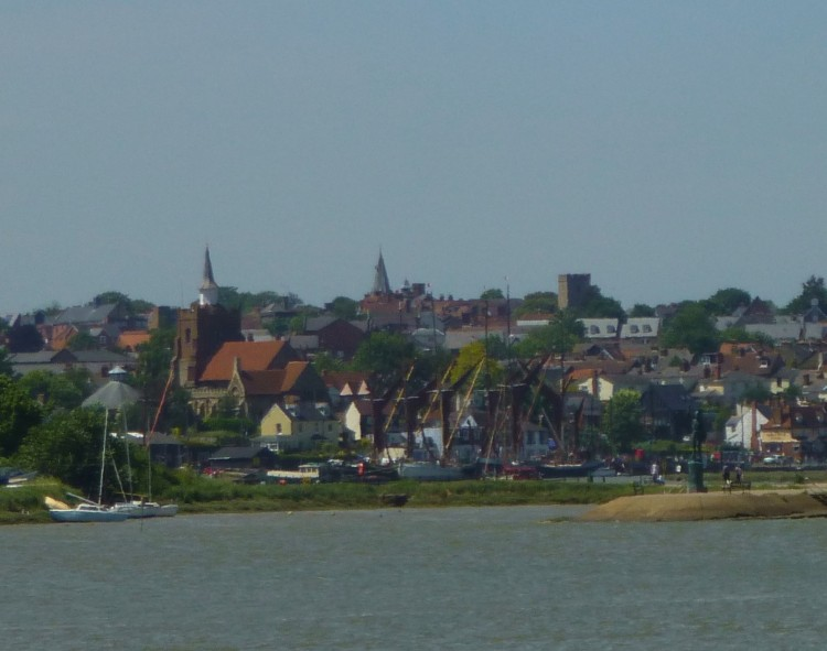 Maldon from the sea wall