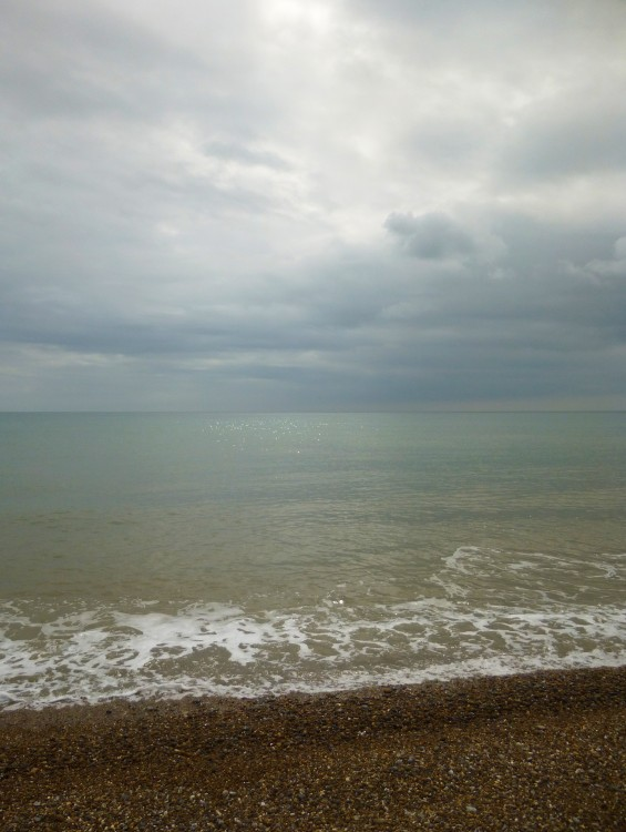 From Aldeburgh beach