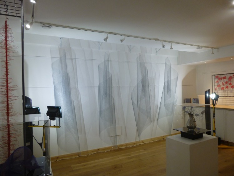 Part of Charlotte Bernays' exhibition in the Sentinel Gallery