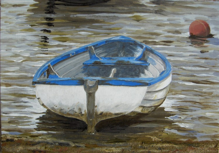 Dinghy in the Shallows