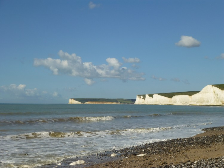 On the beach at Birling Gap