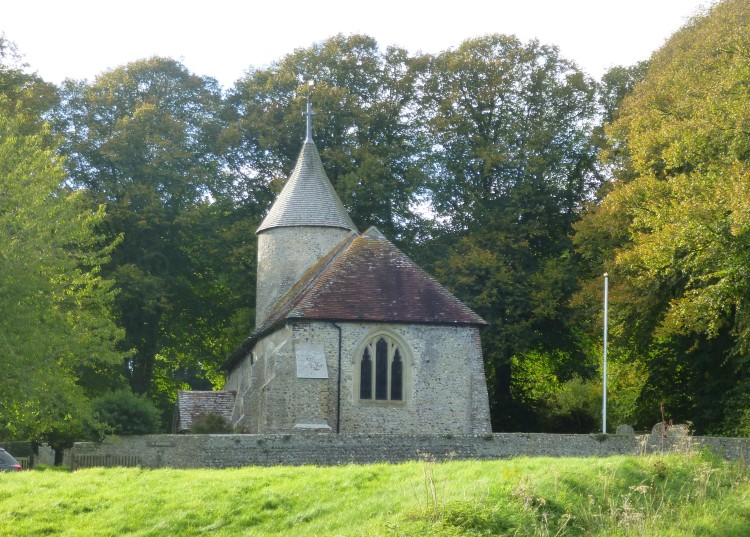 The lovely church at Southease