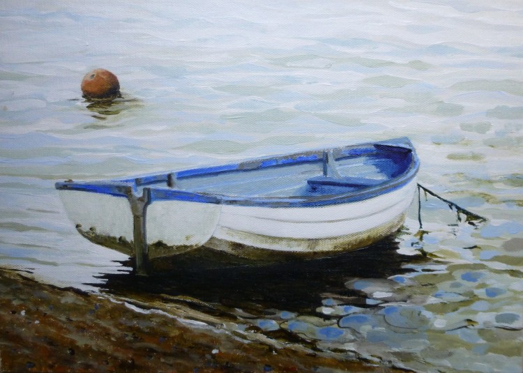Dinghy on the Falling Tide