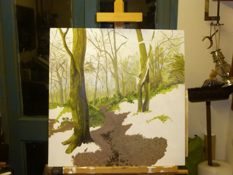 Essex Wood January progress 3