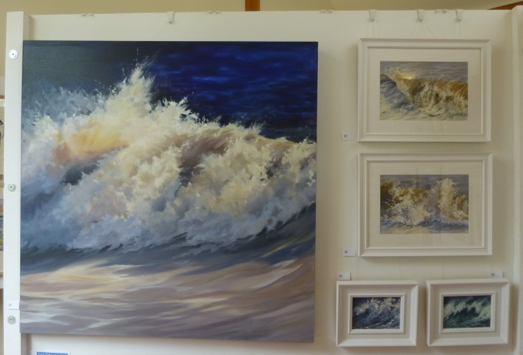 Some of Dawn Hall's stunning paintings