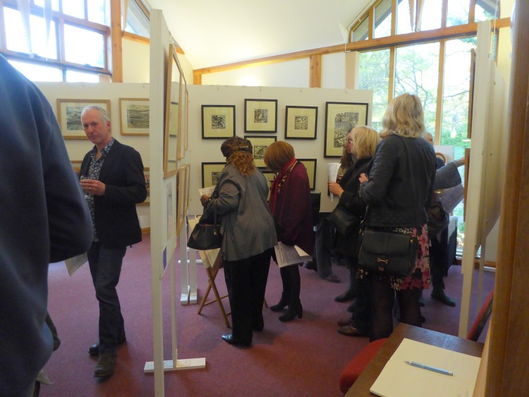 Lots of interest in Richard Allen's work