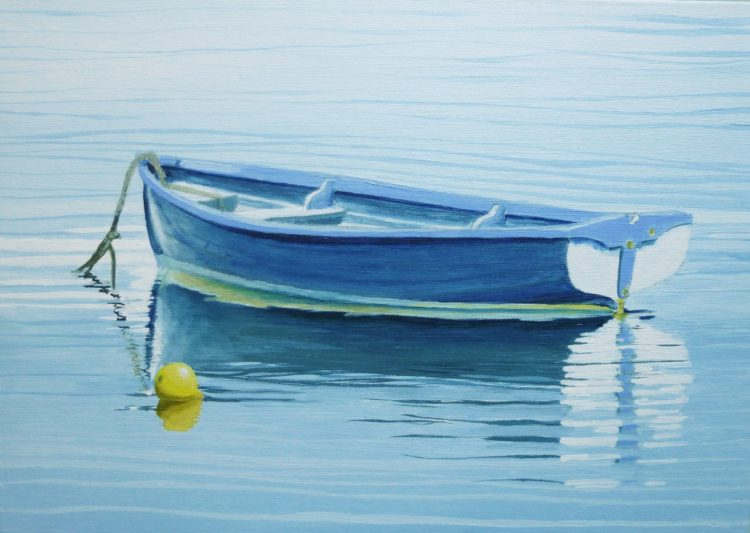 Dinghy on Still Water 3