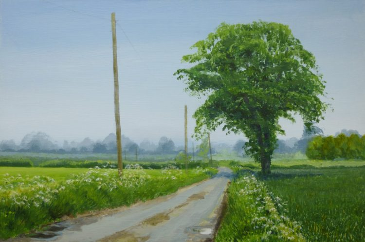 Hazy Spring Morning, Suffolk finished