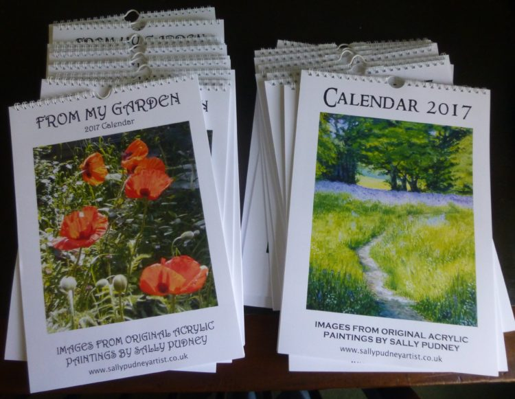 Finished calendars!