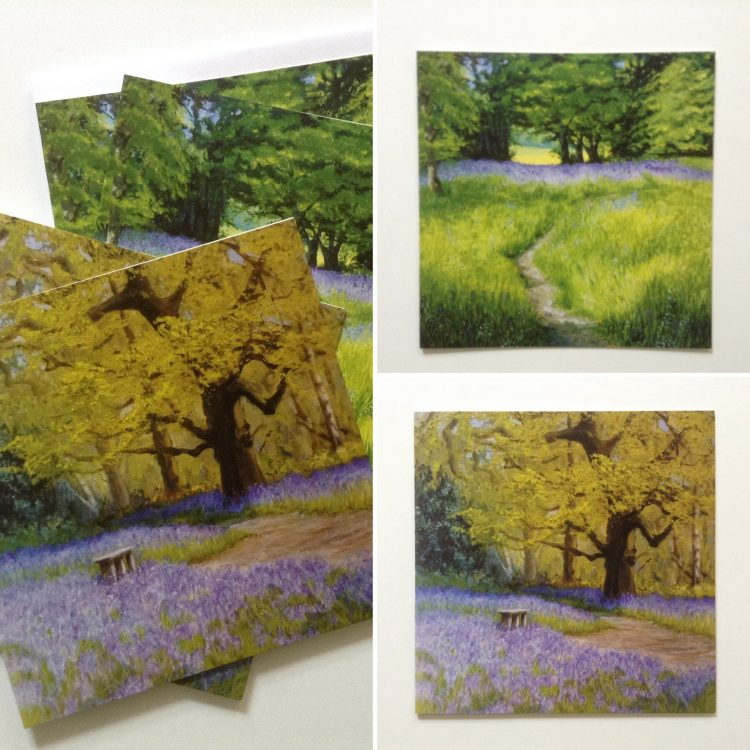 Bluebell Woods Card Pack