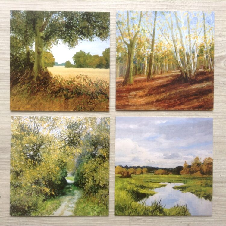 Autumn Greetings Card Pack