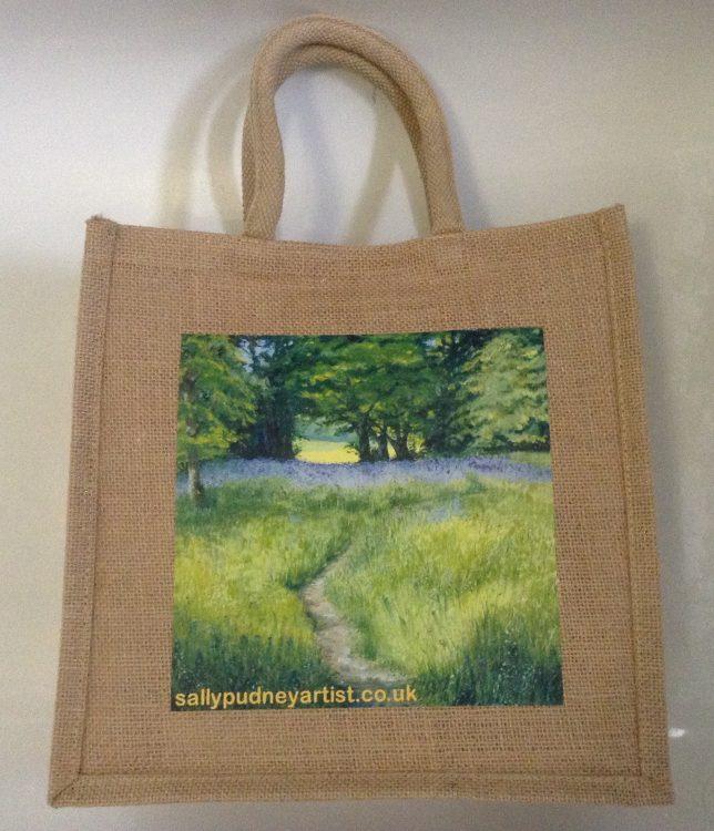 Cute Jute Bag – Essex Wood May design