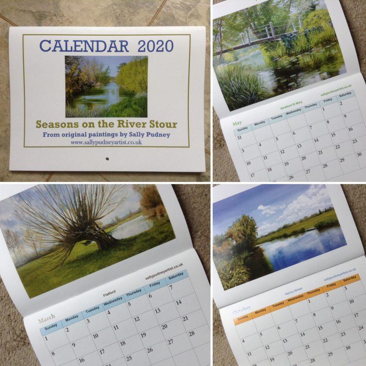Seasons on the River Stour 2020 Calendar