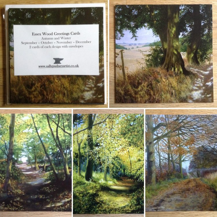 Essex Wood Greetings Cards – Autumn and Winter pack