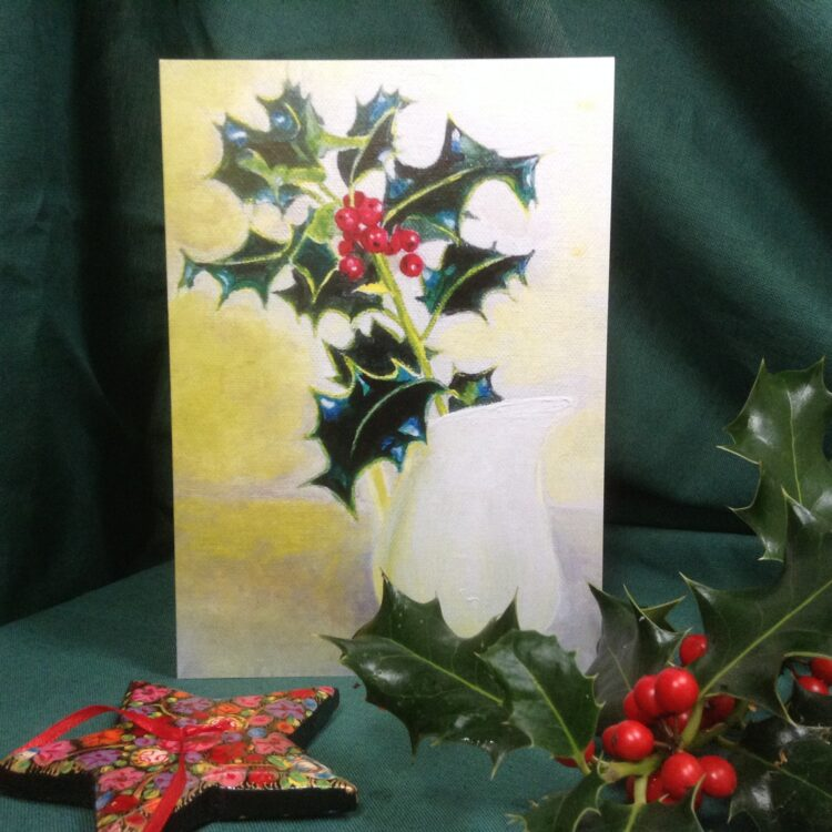 Holly Christmas/Winter Card Pack