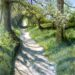 Footpath along the Ramparts - Sally Pudney