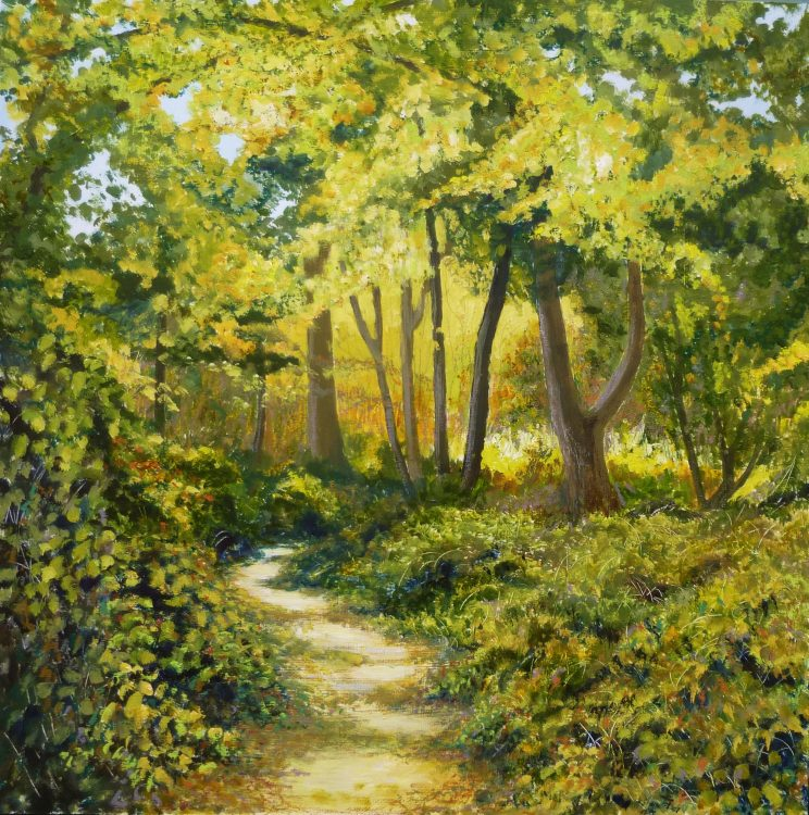 Landlines 1: Path by Sally Pudney