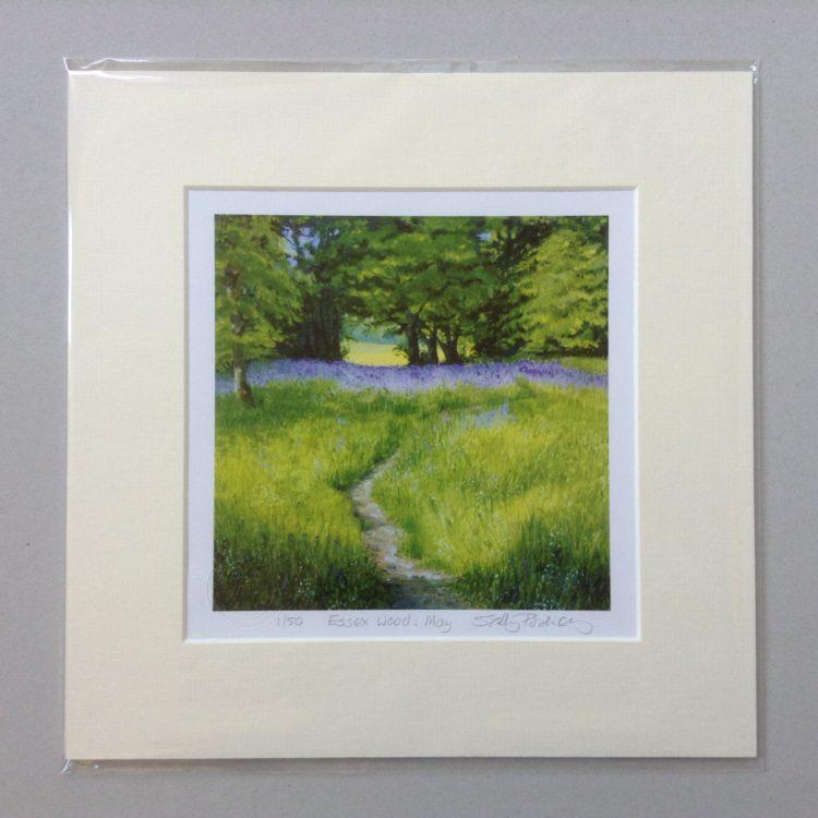 'Essex Wood: May' limited edition mini-print