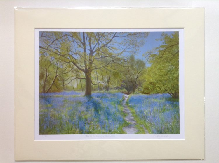 'The Path through the Wood' – Limited edition print