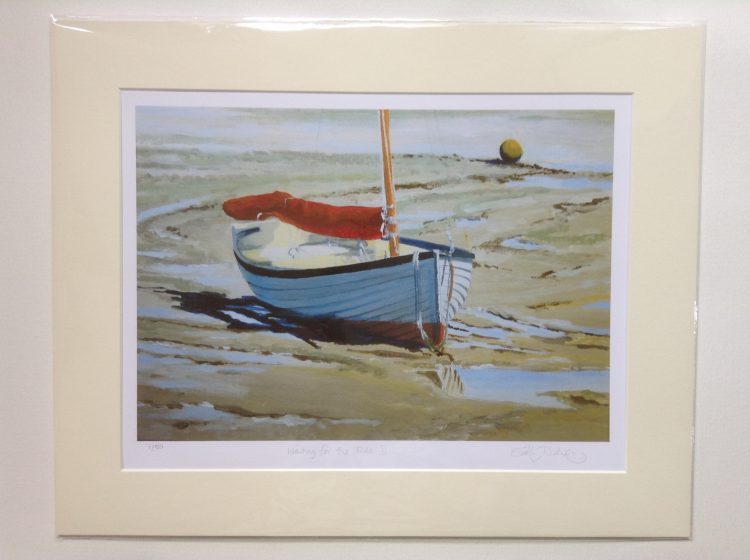 'Waiting for the Tide II' – limited edition print