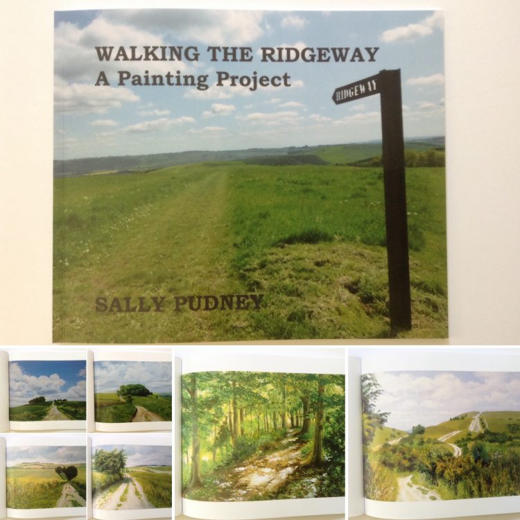 'The Ridgeway: A Painting Project' Book