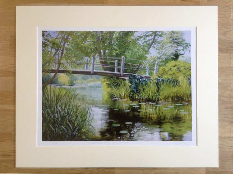 'Stratford St Mary – Early Summer' limited edition print