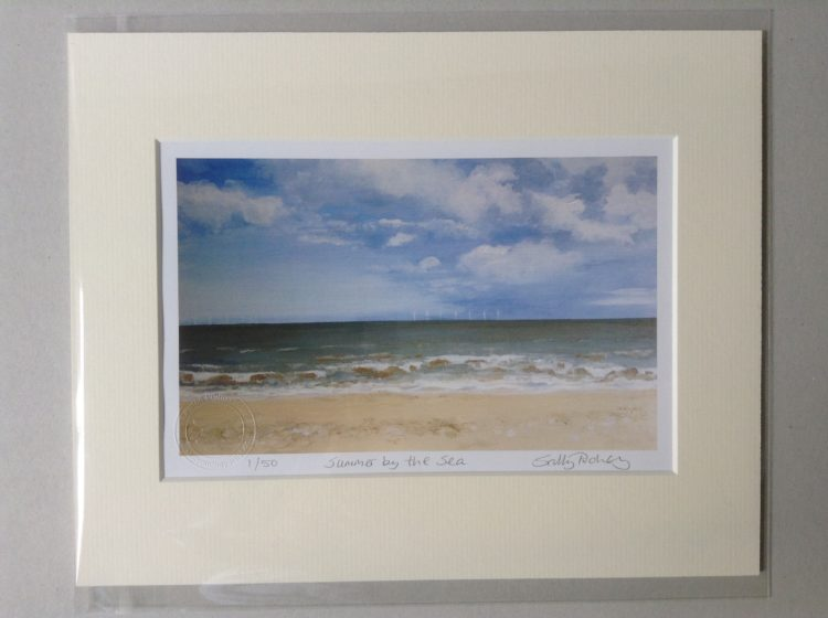 'Summer by the Sea' limited edition mini-print