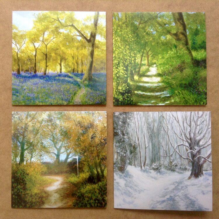 Woodland Walks Greetings Cards Pack