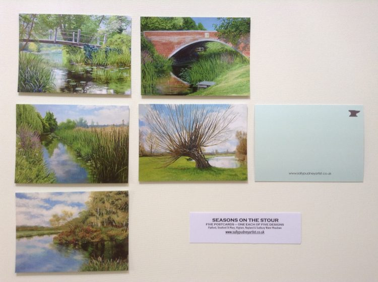 'Seasons on the Stour' Postcard pack